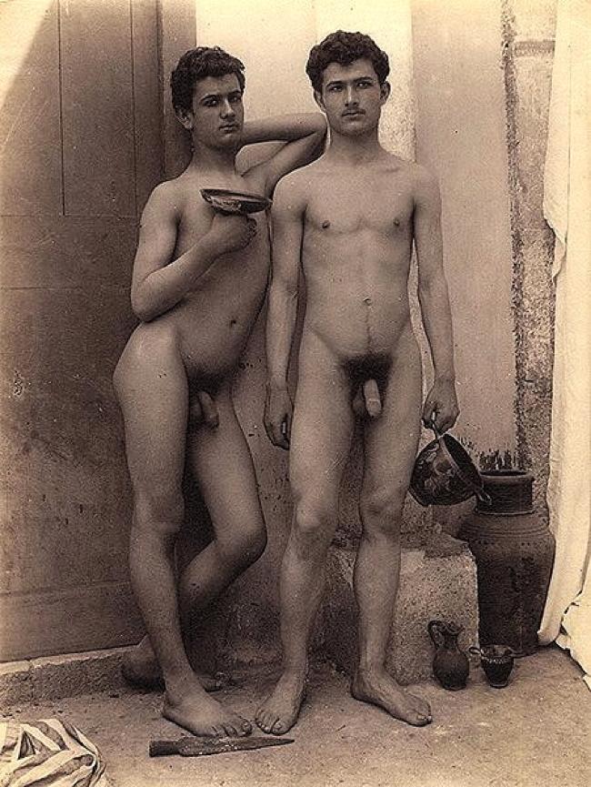 Erotic nude male photos ca 1900 pity