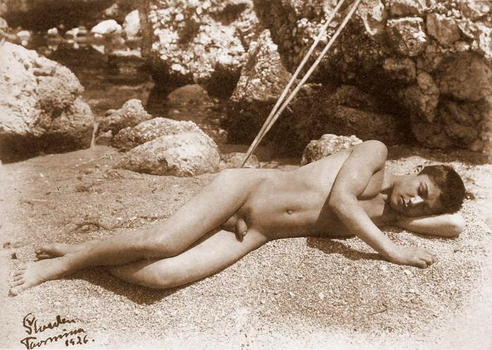 Italian nude girl